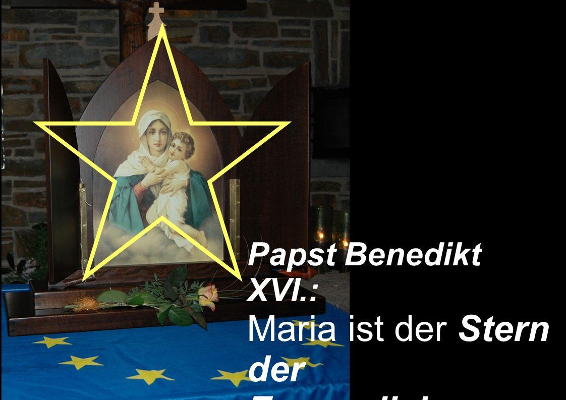 Maria ist der Stern der Evangelisierung