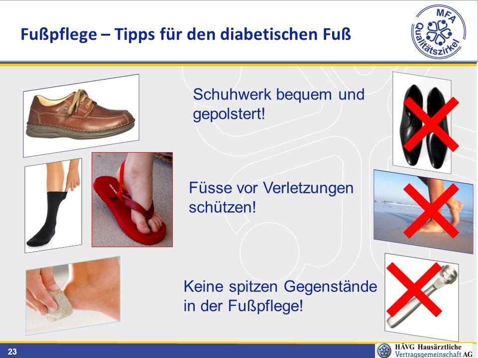 Fußpflege – Tipps für den diabetischen Fuß