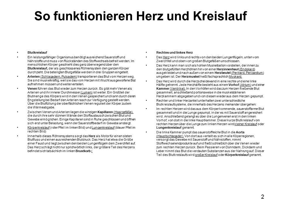 Groß Herz Kreislauf System Arbeitsblatt Fotos - Super Lehrer ...