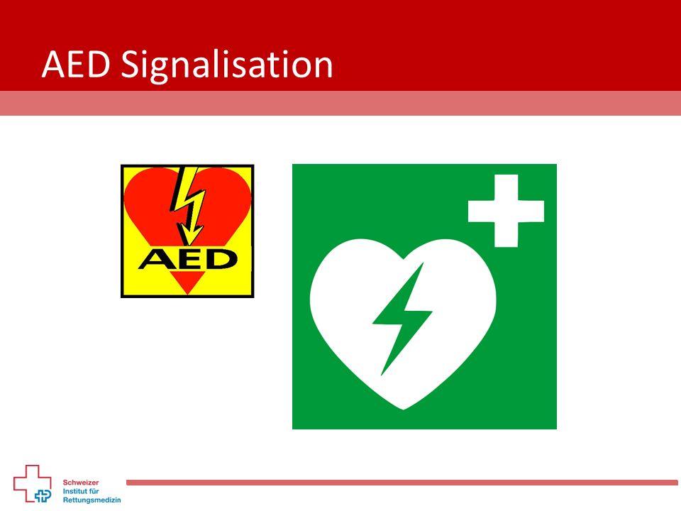 AED Signalisation