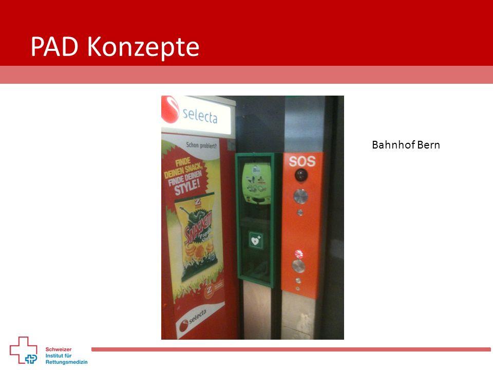 PAD Konzepte Bahnhof Bern