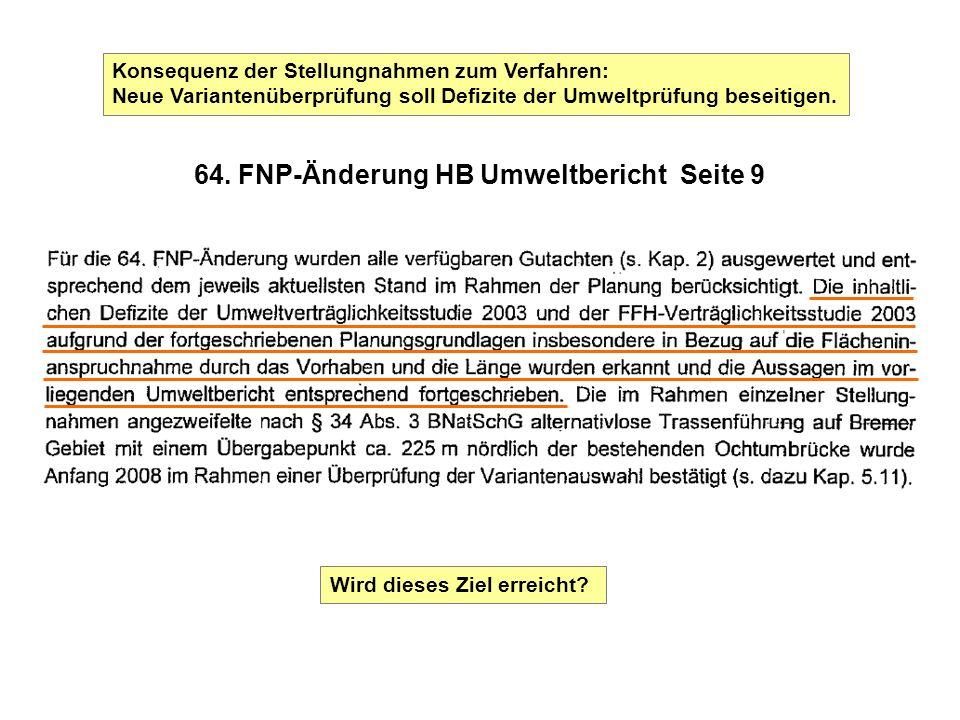 64. FNP-Änderung HB Umweltbericht Seite 9