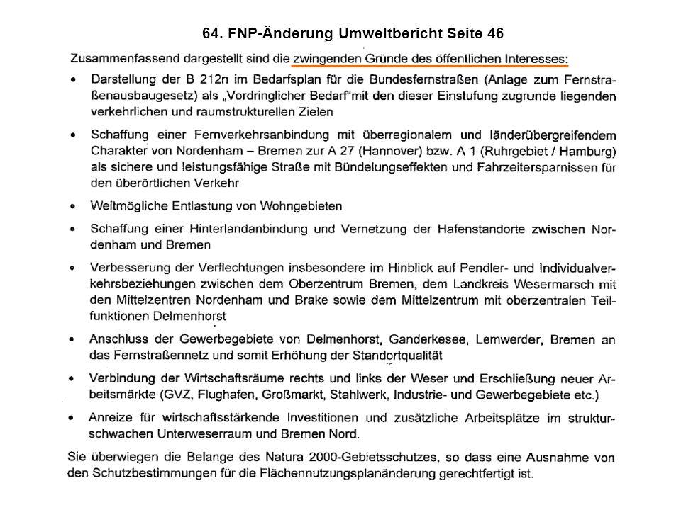 64. FNP-Änderung Umweltbericht Seite 46