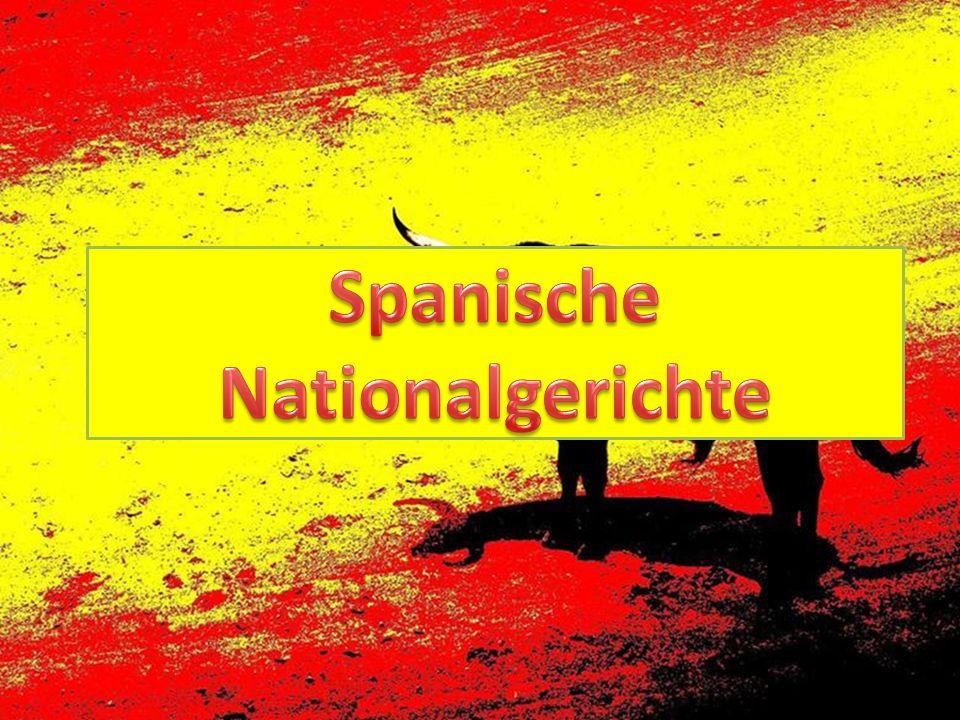 Spanische Nationalgerichte