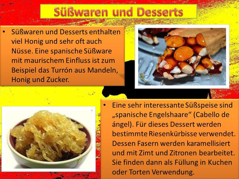 Süßwaren und Desserts
