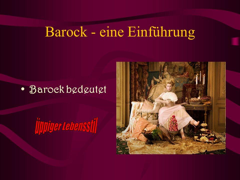 Barock - eine Einführung
