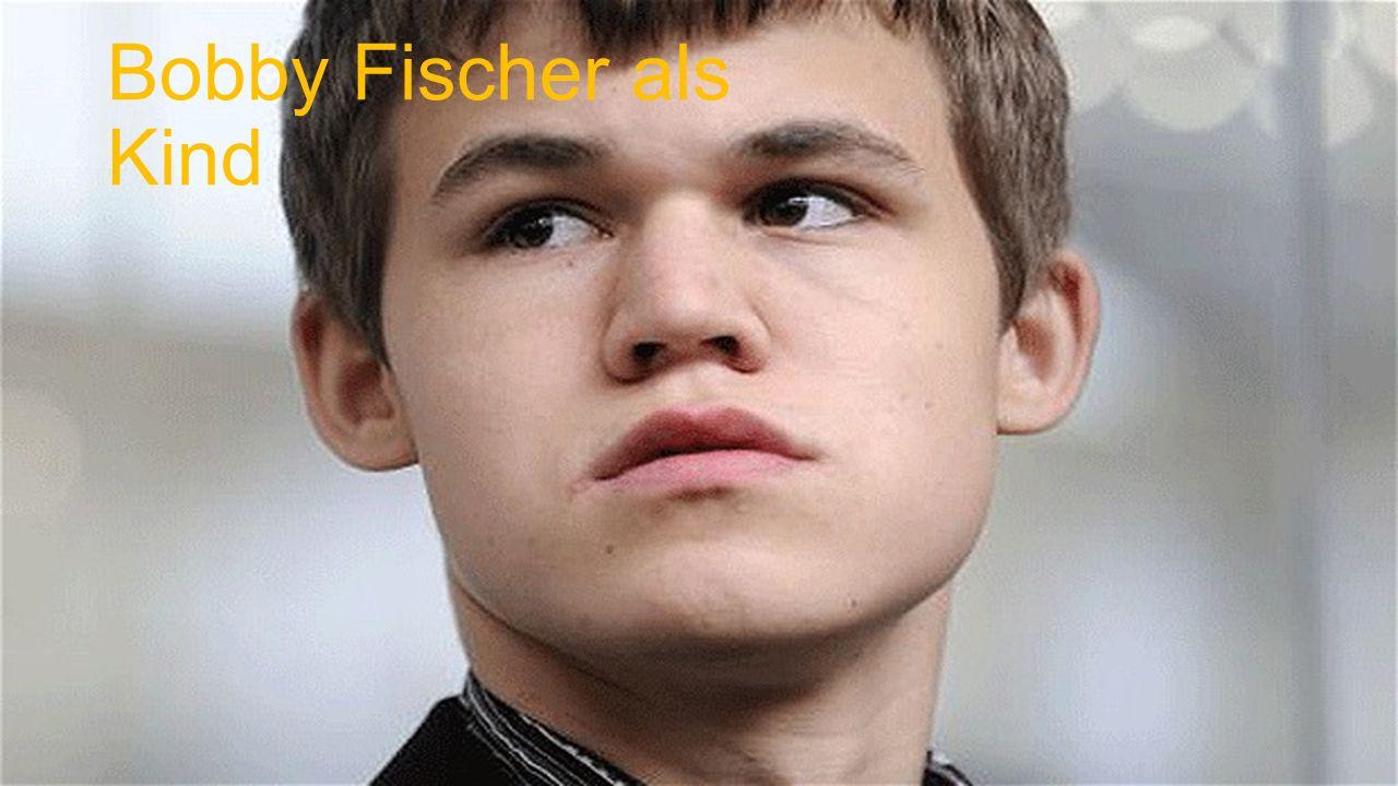 Bobby Fischer als Kind