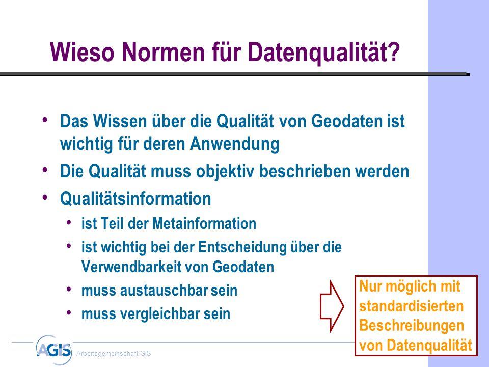 Wieso Normen für Datenqualität