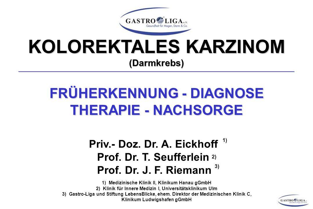 KOLOREKTALES KARZINOM (Darmkrebs)