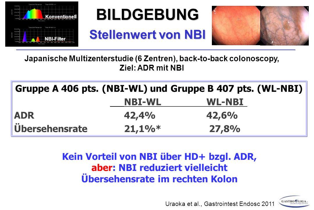 Stellenwert von NBI BILDGEBUNG