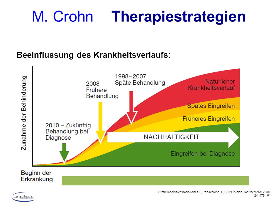 M. Crohn Therapiestrategien