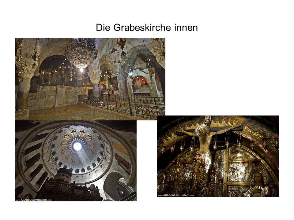 Die Grabeskirche innen