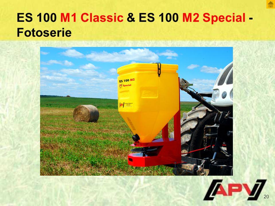 ES 100 M1 Classic & ES 100 M2 Special - Fotoserie