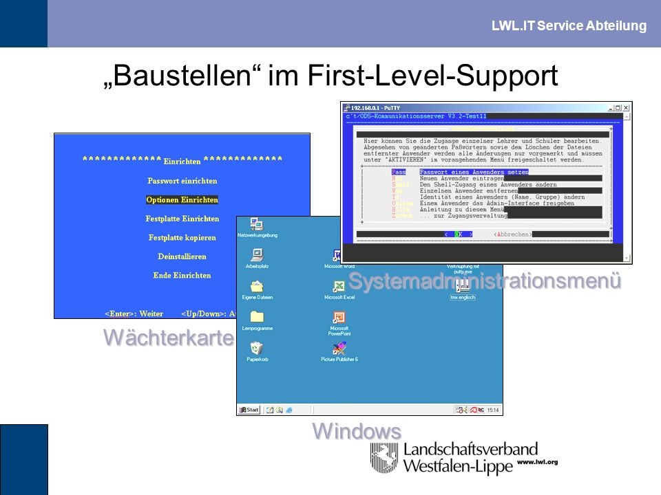 """Baustellen im First-Level-Support"