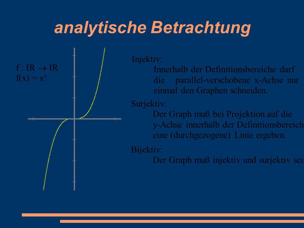 analytische Betrachtung