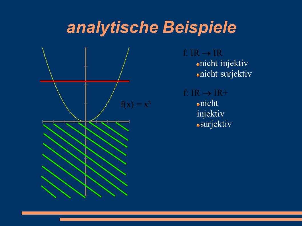analytische Beispiele