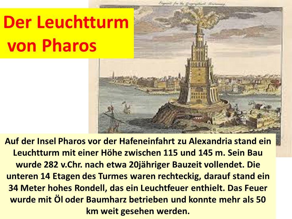 Der Leuchtturm von Pharos