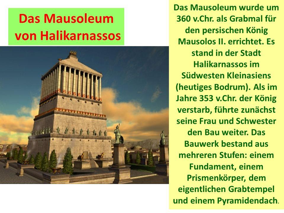 Das Mausoleum von Halikarnassos