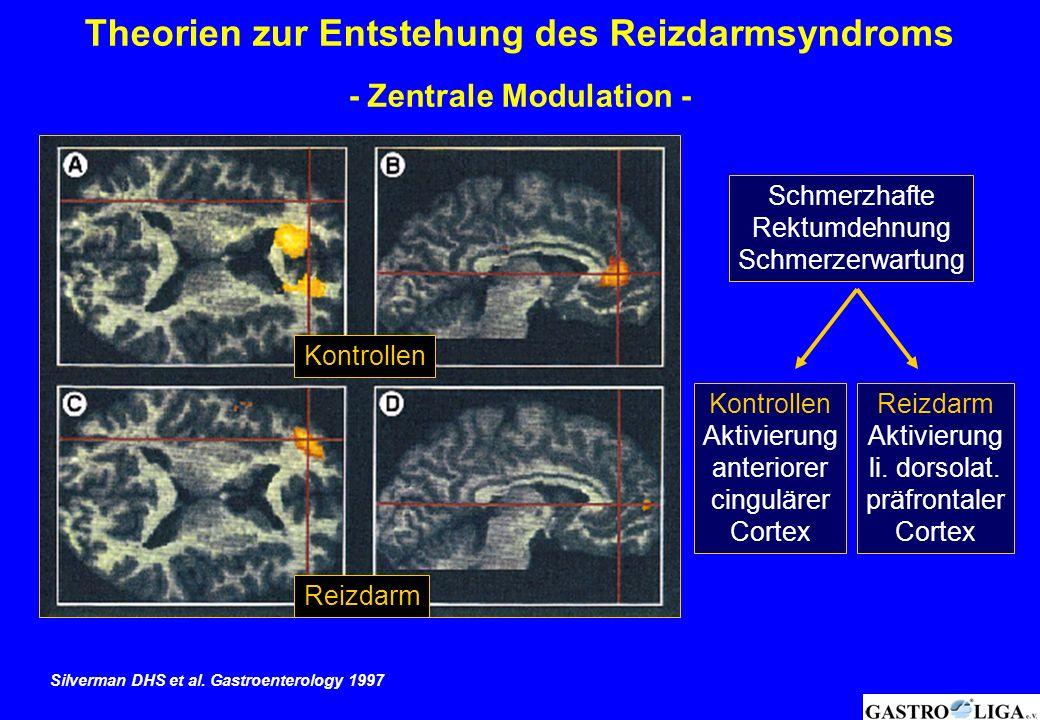 Theorien zur Entstehung des Reizdarmsyndroms - Zentrale Modulation -