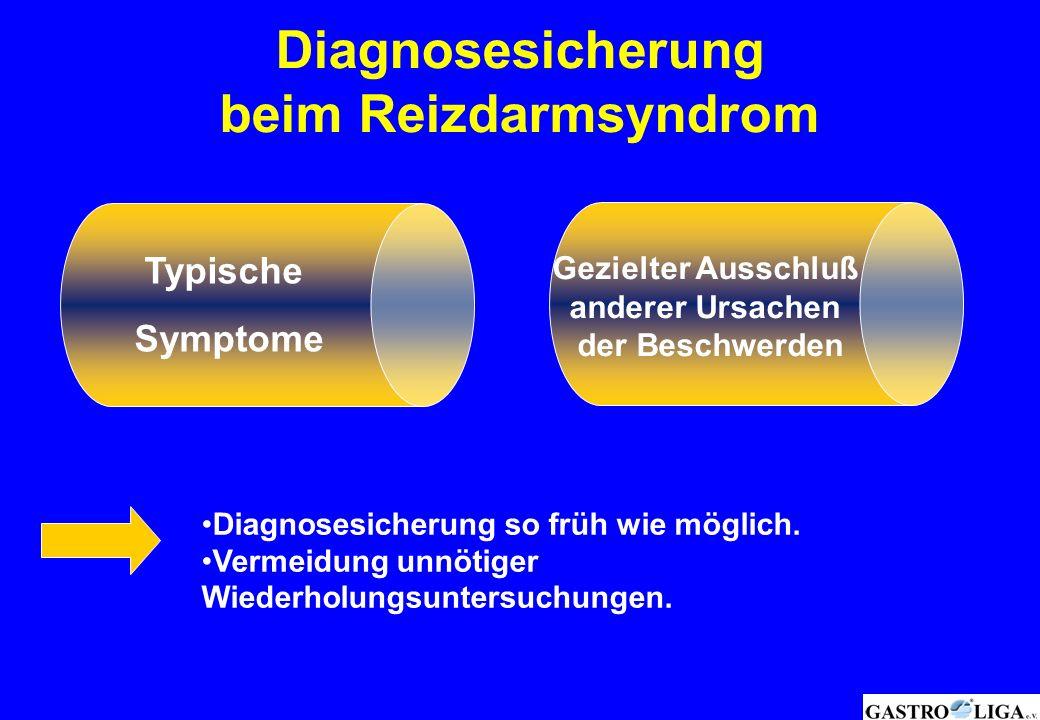 Diagnosesicherung beim Reizdarmsyndrom