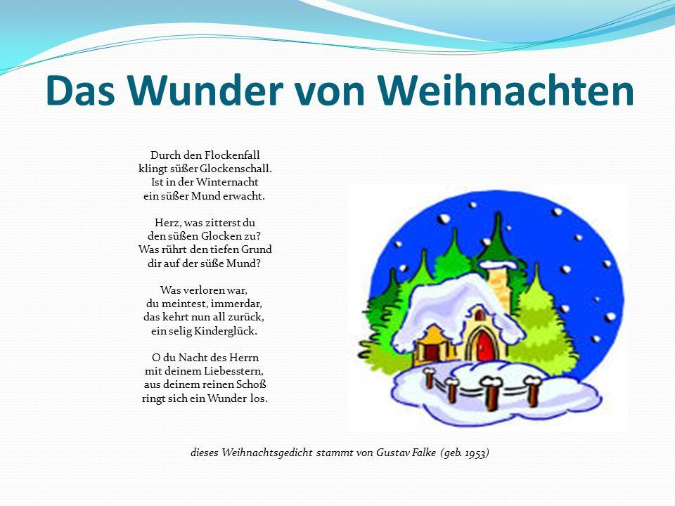 Das Wunder von Weihnachten
