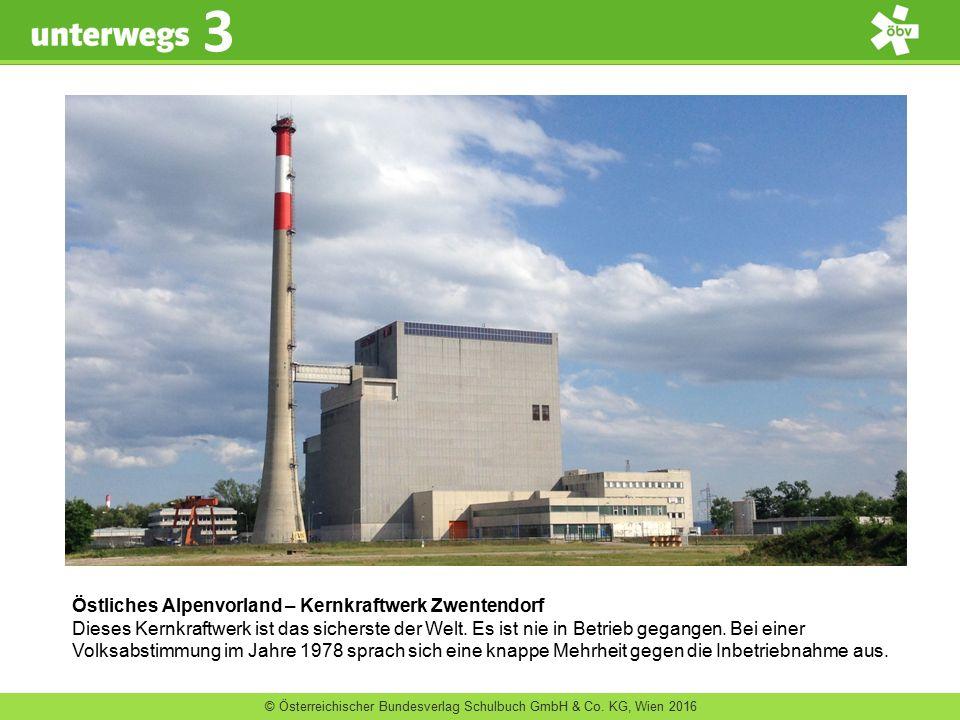 Östliches Alpenvorland – Kernkraftwerk Zwentendorf