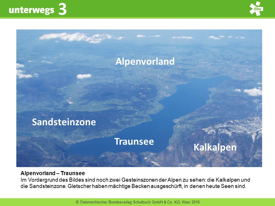 Alpenvorland Sandsteinzone Traunsee Kalkalpen Alpenvorland – Traunsee
