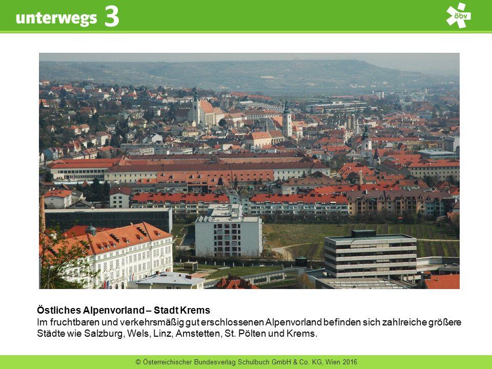 Östliches Alpenvorland – Stadt Krems