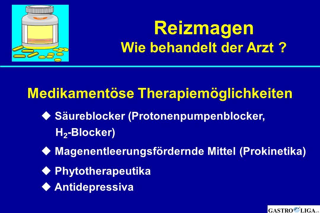 Medikamentöse Therapiemöglichkeiten