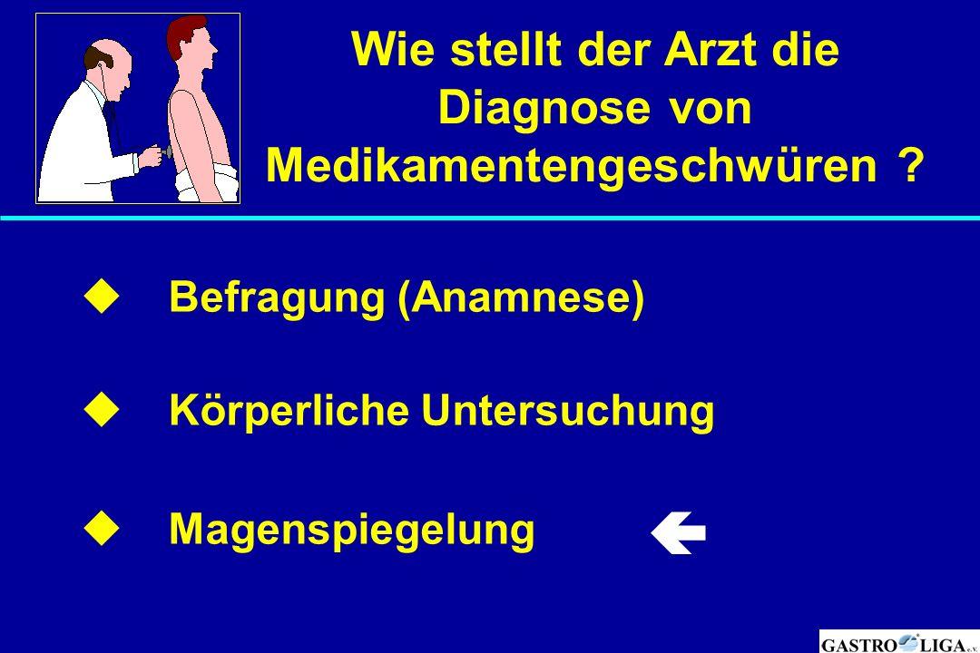 Medikamentengeschwüren