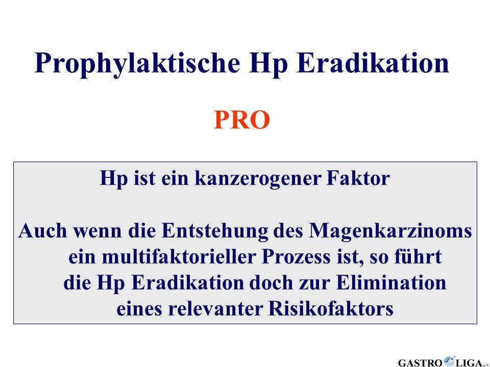 Prophylaktische Hp Eradikation