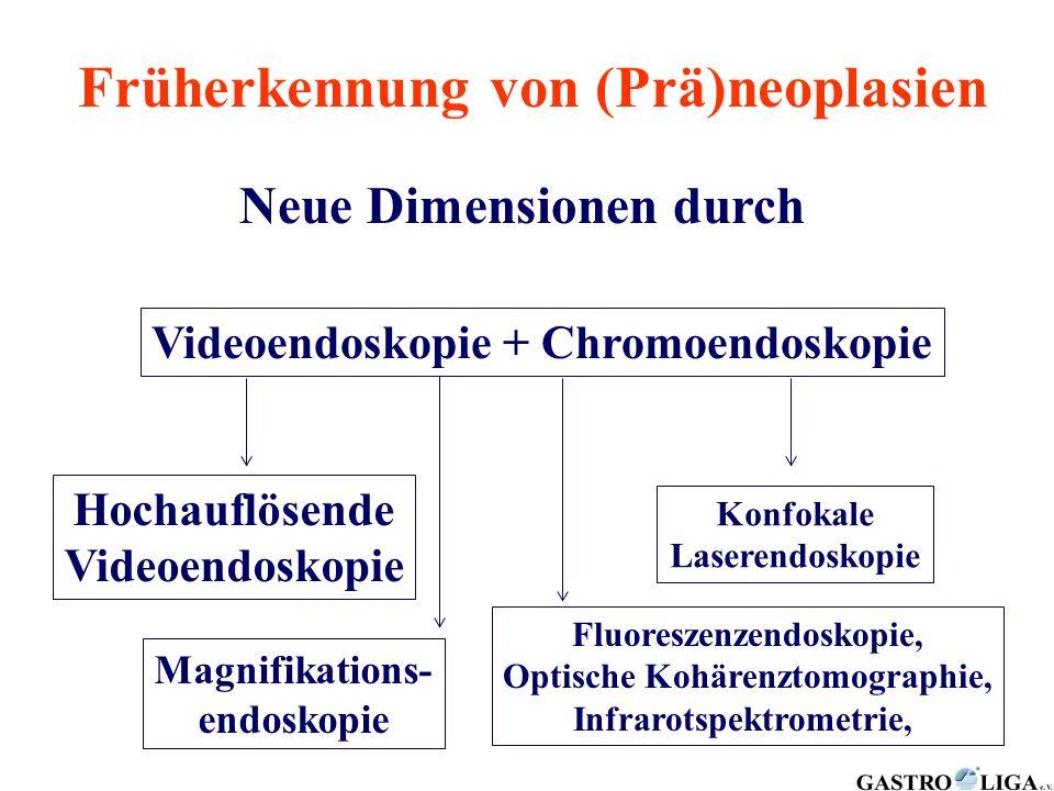 Früherkennung von (Prä)neoplasien