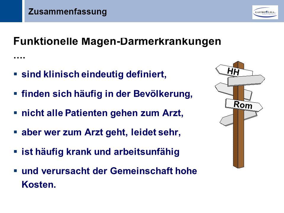Funktionelle Magen-Darmerkrankungen ….