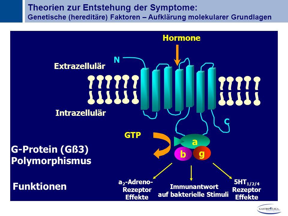 auf bakterielle Stimuli