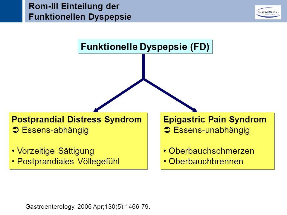 Funktionelle Dyspepsie (FD)