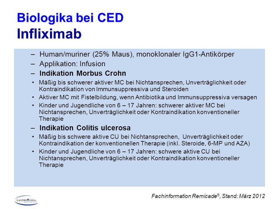 Biologika bei CED Infliximab