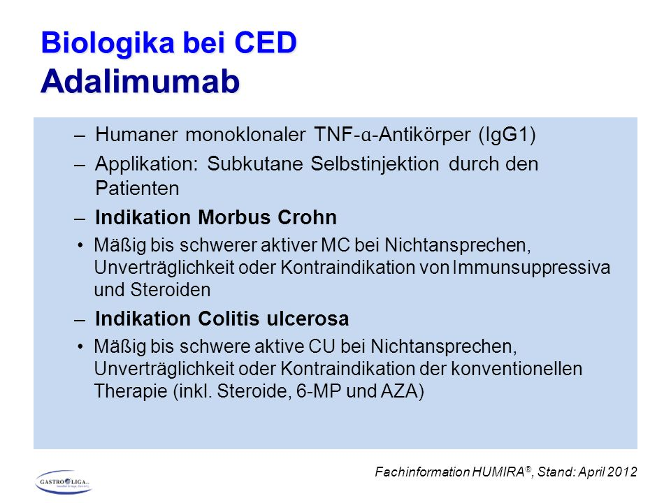 Biologika bei CED Adalimumab