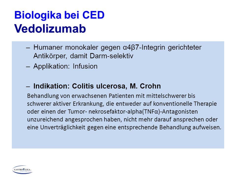 Biologika bei CED Vedolizumab