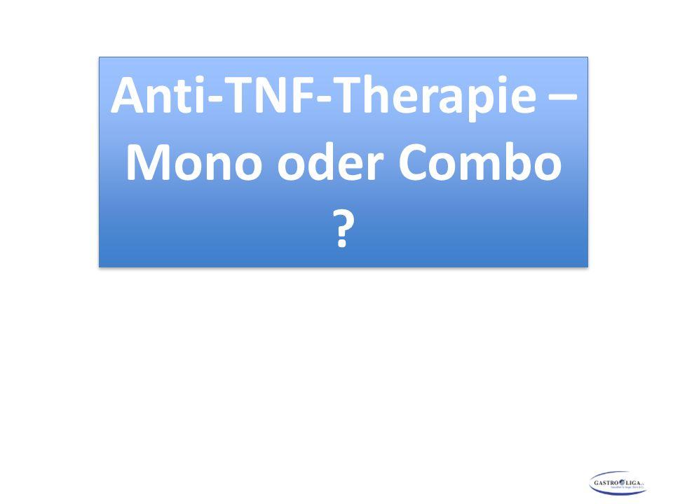 Anti-TNF-Therapie – Mono oder Combo