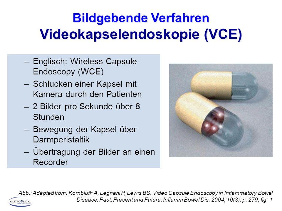 Bildgebende Verfahren Videokapselendoskopie (VCE)