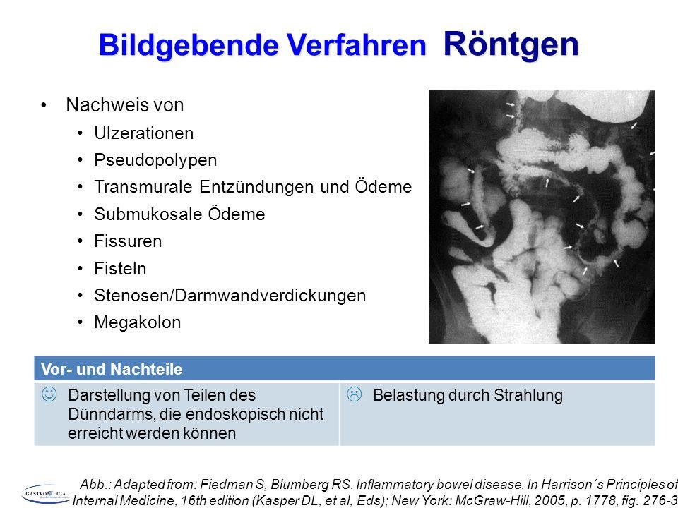 Bildgebende Verfahren Röntgen