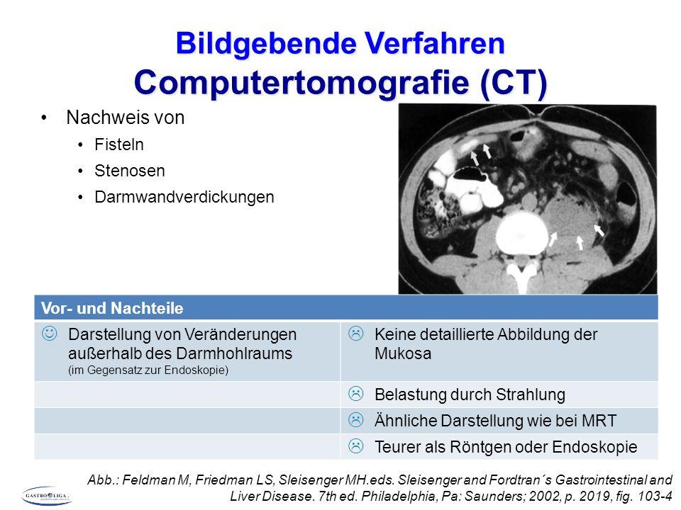 Bildgebende Verfahren Computertomografie (CT)