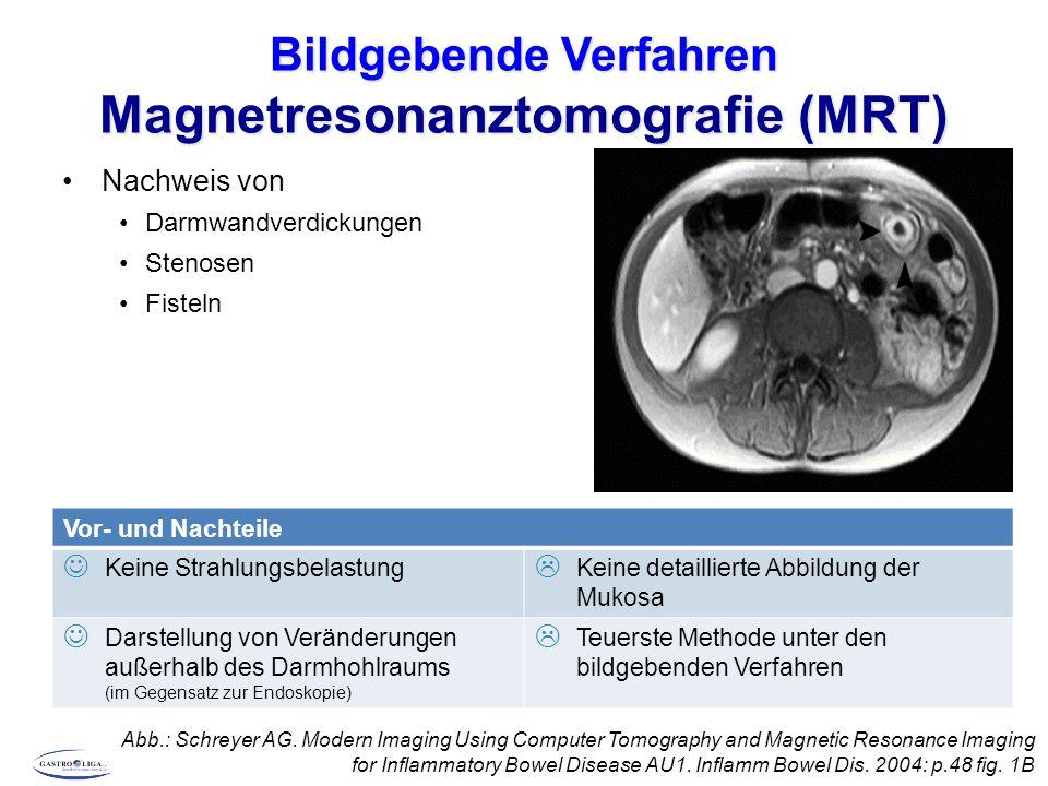 Bildgebende Verfahren Magnetresonanztomografie (MRT)