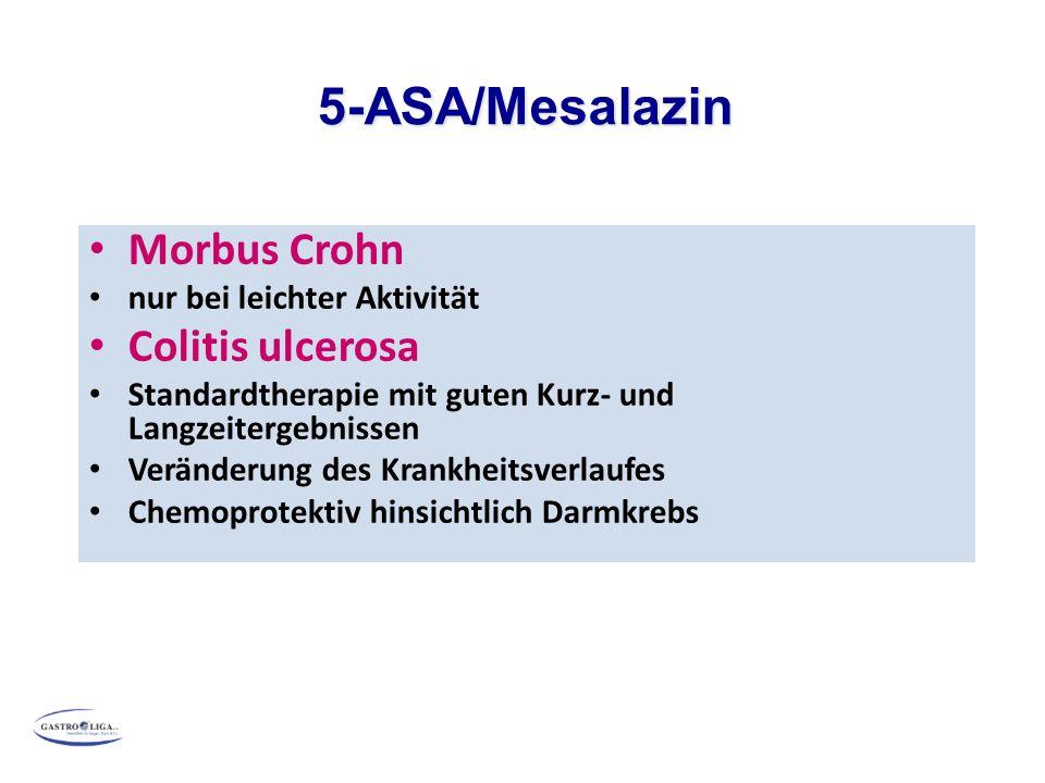 5-ASA/Mesalazin Morbus Crohn Colitis ulcerosa
