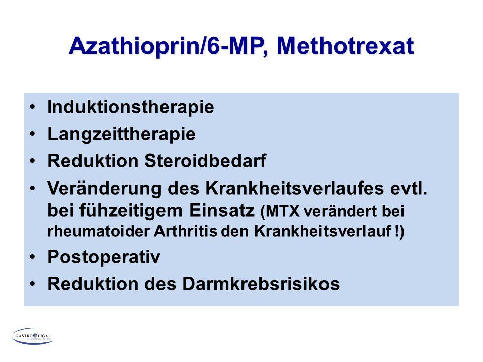 Azathioprin/6-MP, Methotrexat
