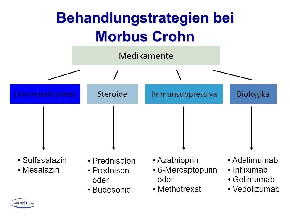 Behandlungstrategien bei Morbus Crohn