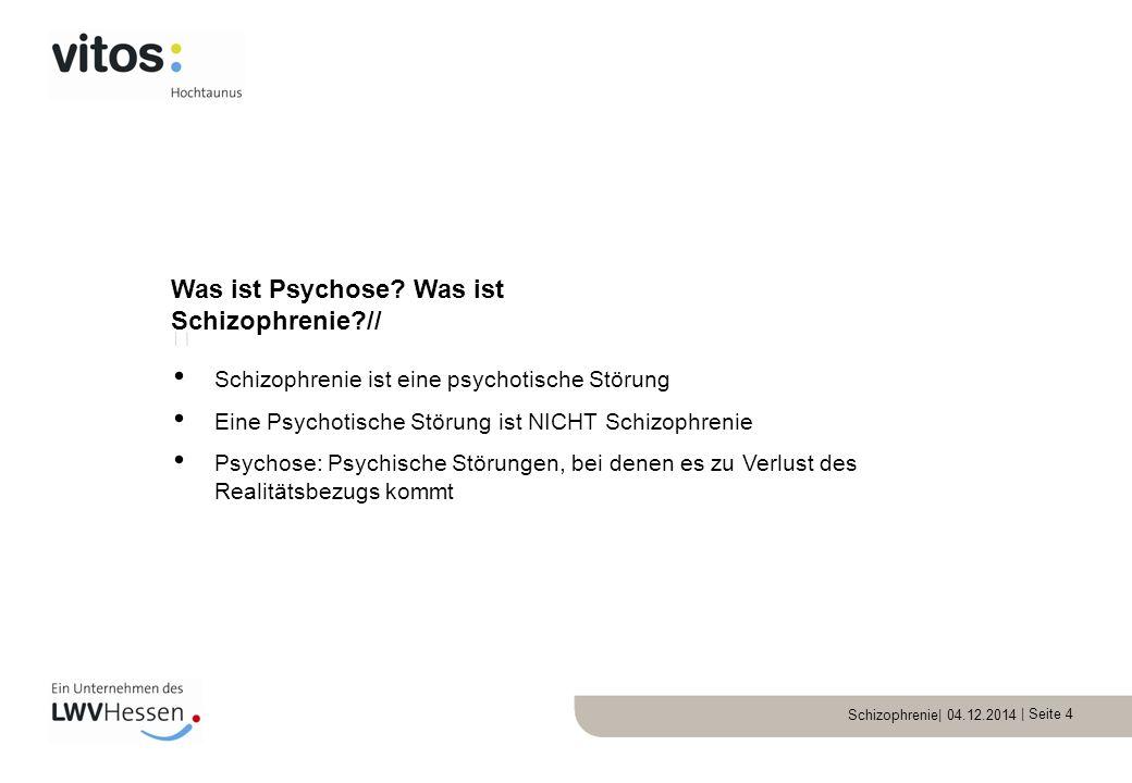 Was ist Psychose Was ist Schizophrenie //