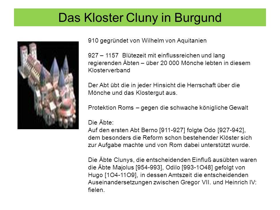 Das Kloster Cluny in Burgund