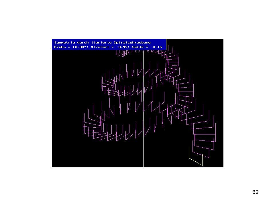 Erklären, wie diese Bilder entstanden sind, vor etwa 25 Jahren mit PASCAL auf DOS-Ebene programmiert