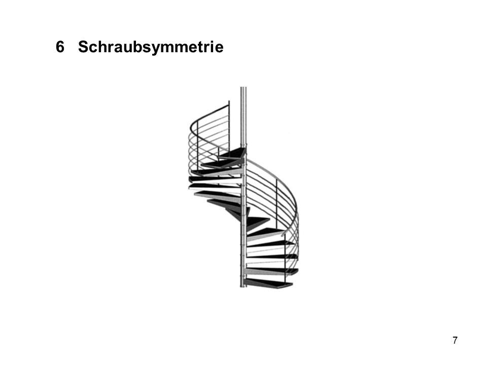 6 Schraubsymmetrie Wendeltreppe